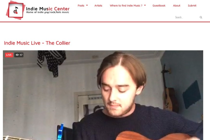 Indie Music Live #2 with The Collier